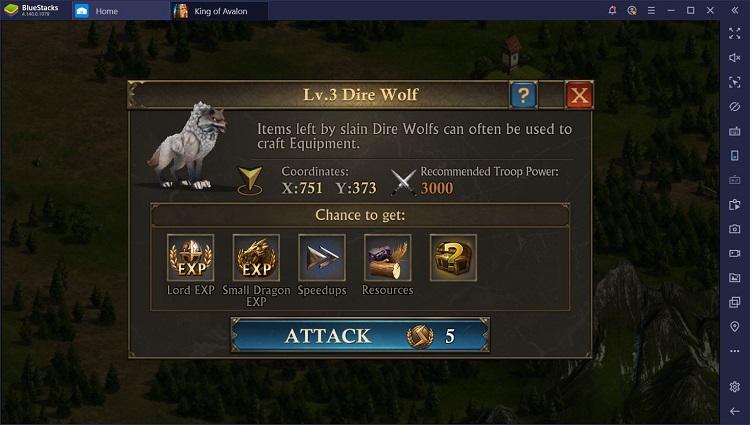 BlueStacks Macros setting to play King of Avalon