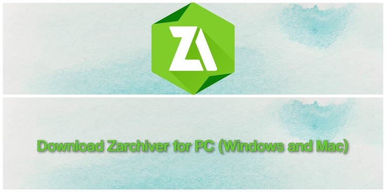 Download Zarchiver for PC (Windows and Mac)
