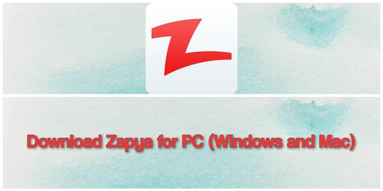 Download Zapya for PC (Windows and Mac)
