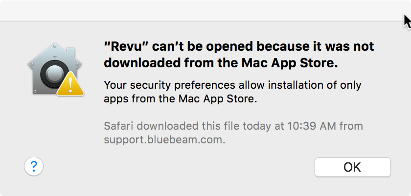 """""""Revu"""" can't be opened"""