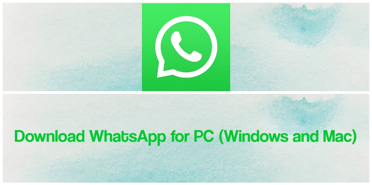 For whatsapp application pc download Download &