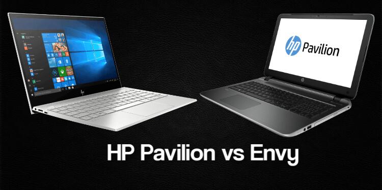 HP Pavilion vs Envy