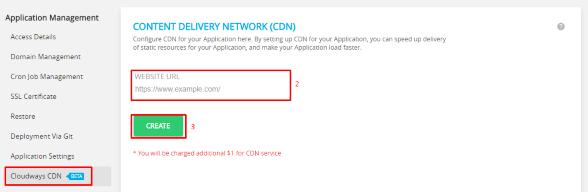 Cloudways CDN - Advanced Caching