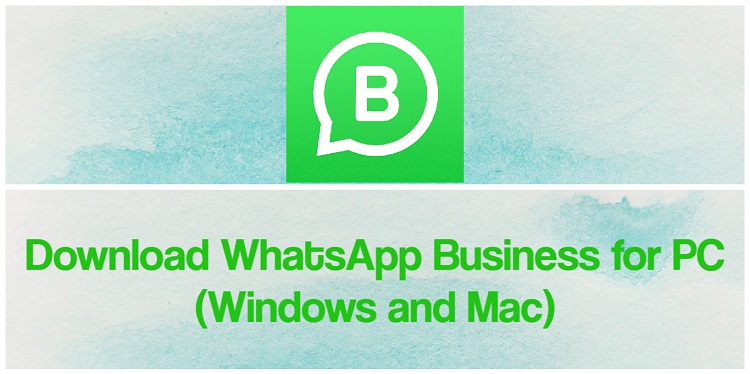 Download WhatsApp Business for PC (Windows and Mac)