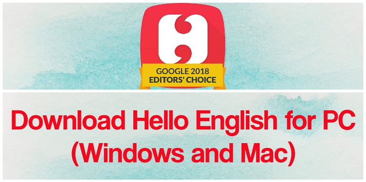 Download Hello English App for PC (Windows and Mac)