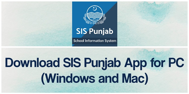 Download SIS Punjab App for PC (Windows and Mac)