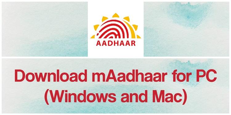 Download mAadhaar for PC (Windows and Mac)